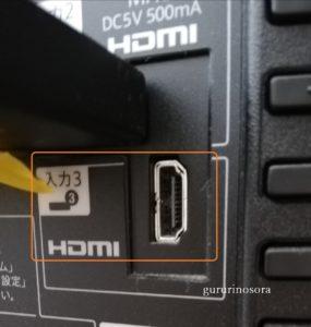 HDML差込み口の写真