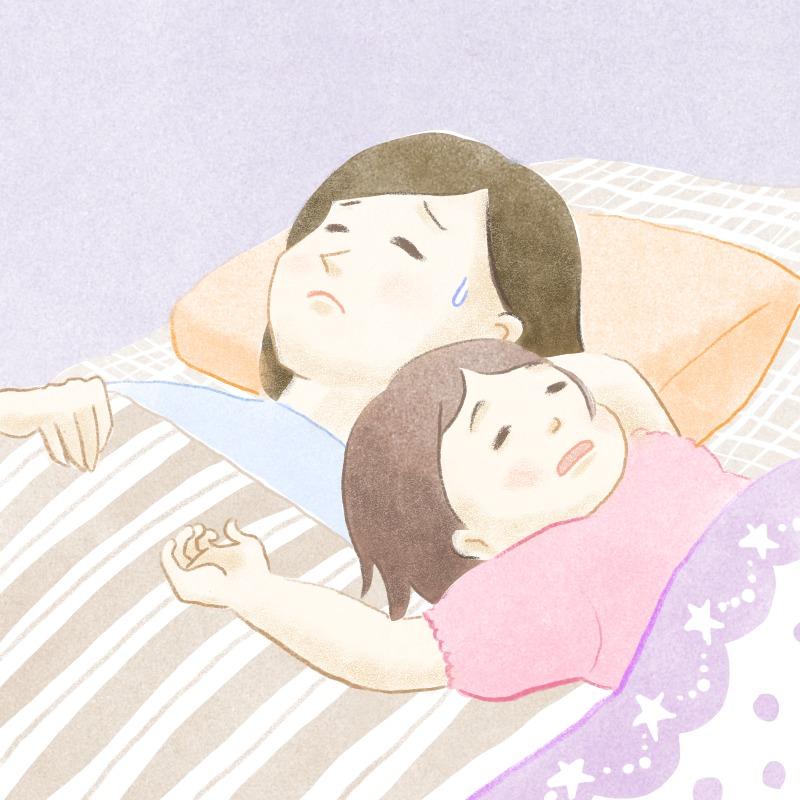 寝相のイメージ画像