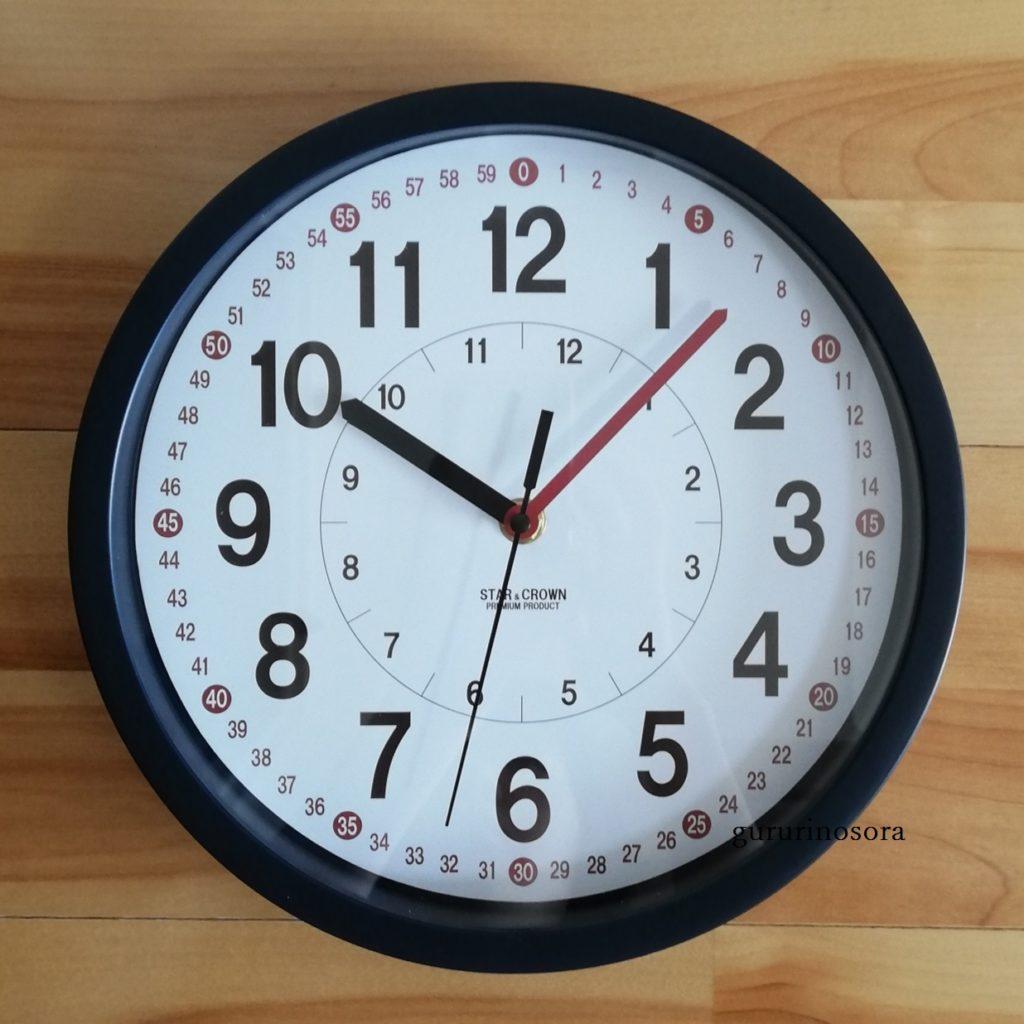 スリコの知育時計の写真